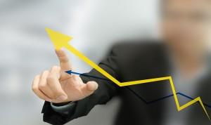 Business Man Upward trend-min
